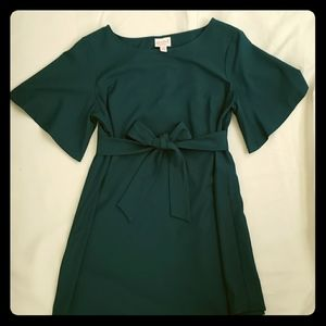 Jade Green Tie Belt Maternity Top